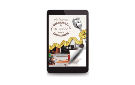 """Bônus #3: Livro Digital """"As Receitas Maravilhosas do Dr. Rondó"""""""